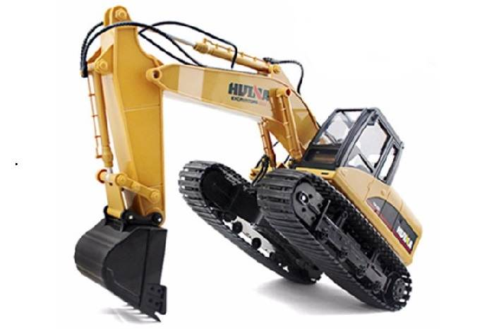 HUINA 1/14 SCALE RC EXCAVATOR 2.4G 15CH WITH DIE CAST BUCKET